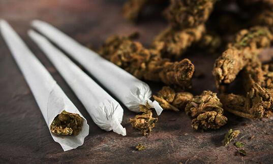 Cannabinoids addiction program
