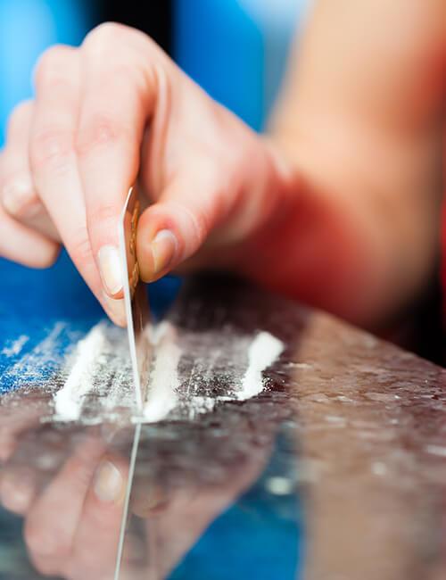 Cocaine addiction program