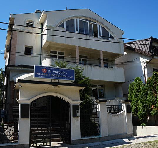 Dr. Vorobiev - rehab clinic